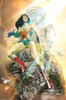 Wonder Woman by marvisionart