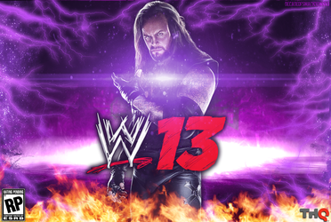 WWE '13 - The Undertaker Wallpaper by DecadeofSmackdownV3
