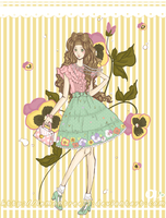 Commission: Pansy Lolita by lemontree11