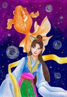 shih chieh and the goldfish by hananovie