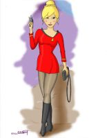 Female Red Shirt by Anime-Ray