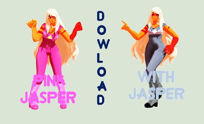 [MMD] Pink And With Jasper Model DOWNLOAD by AnderUniver