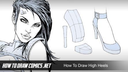 How To Draw High Heels by ClaytonBarton