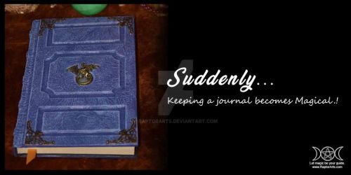 spellbooks cosplay journals sketchbooks all epic! by RaptorArts
