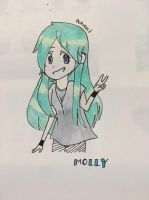 Molly (GIFT) made for my senpai by purirun
