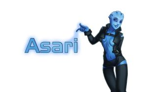 Asari by cozzypaper