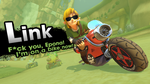 Link joins Mario Kart 8! by R-One-92