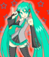 miku hatsune vocaloid by brandiapril09