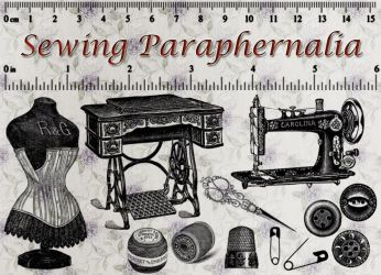 Sewing Paraphernalia by auRoraBor