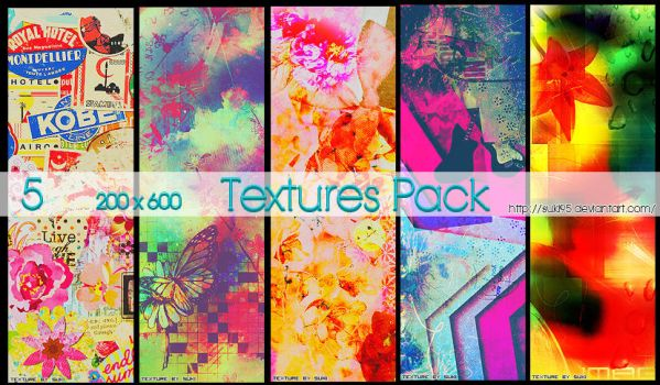 200x600 Textures Pack by Suki95