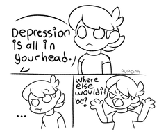 Depression by Pupom