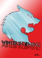 Winter is Coming Blue/Red Variation by XtremeTakeoff