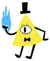 Bill Cipher by Jess4ever