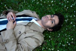 { Castiel - SPN } The Courage of the Fall by SubakuNoHana