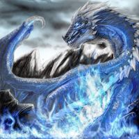 Sapphire Dragon by Decadia