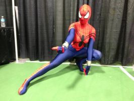 spidergirl action pose again by animeloving-Okami