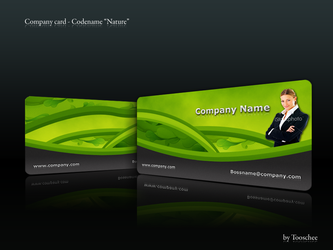 Company Card - 'Nature' by Tooschee