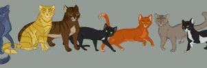 Warrior Cats by tigon