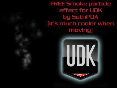 FREE Smoke particle for UDK by SethPDA