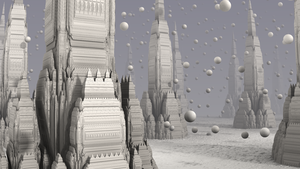 The City in the Snow Globe by hypex2772