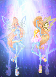 Anna and Diana Tynix couture by xXTwiggy