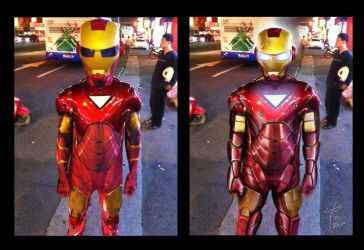 Ironman Before and After by manpowersonyy