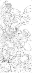 Skylanders Wraparound Cover Full Set by Baldeon
