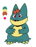 Bear the Munchlax by ClockworkMacabre