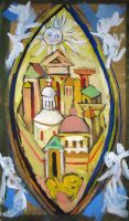 Esquisse for Glass Painting II by Yudaev