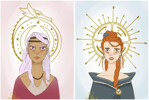 Queens by Grouillote-oh