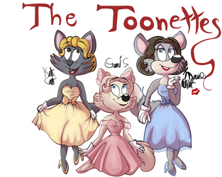 The Toonettes by Fawnadeer