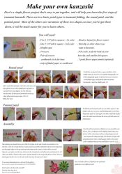 Tsumami Kanzashi Basics Tutorial by EruwaedhielElleth
