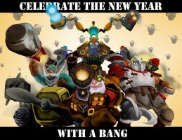 New year bang by yzzzehC