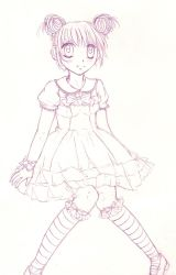 Sweet lolita sketch by xsweetxXcandyx
