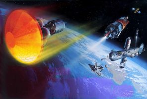 Nasa's Next Spaceships by AlanGutierrezArt
