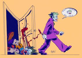 Joker and Killer Klowns by gzapata