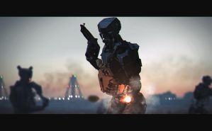 grenade launcher by Jose-Melo
