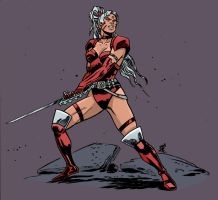 Zealot by Andy Belanger color by Chaz  v2 3-22-17 by ChazWest