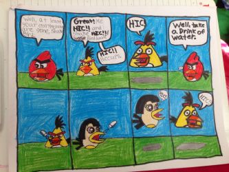 Shake Bird's Hiccups Page 3 by Mario1998