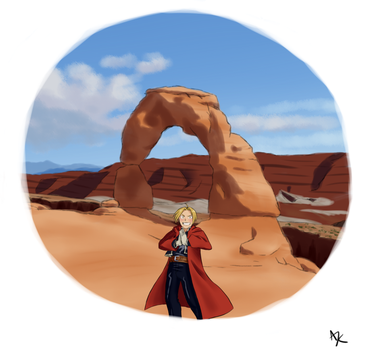Fullmetal at Arches by KnightA3