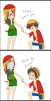Drawing: Would you do me the honors of... by ComicCreator