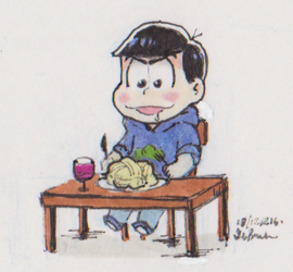 The tiniest dinner by KirstenChocolate