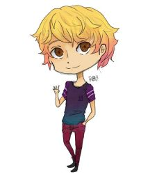 chibi practice (color) by Ciear