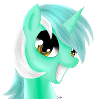 Lyra Portrait by Dragonfoorm