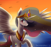 Celestia Sunset Kiriban by Incinerater