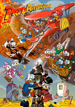 Ducktales: Co-drawing by mariods