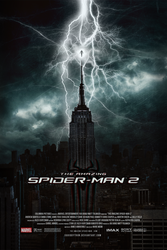 The Amazing Spider-Man 2   Theatrical Poster by Squiddytron
