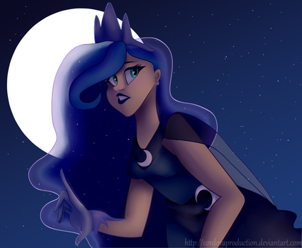 humanized luna by Cordovaproduction