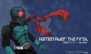 Kamen Rider The First by Howazzim