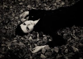 mary anne in leafs by pureshotsphotography